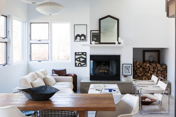 Contemporary Living Room by ACRE Goods + Services