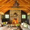 Houzz Tour: Laid-Back Comfort in the New York Woods