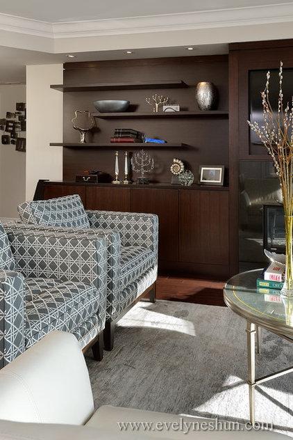 Contemporary Living Room by Evelyn Eshun Interior Design