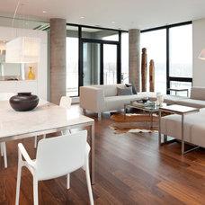 Modern Living Room by ALTUS Architecture + Design