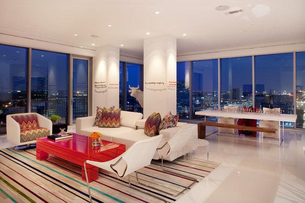 contemporary living room by laura u inc beautiful living room pillar