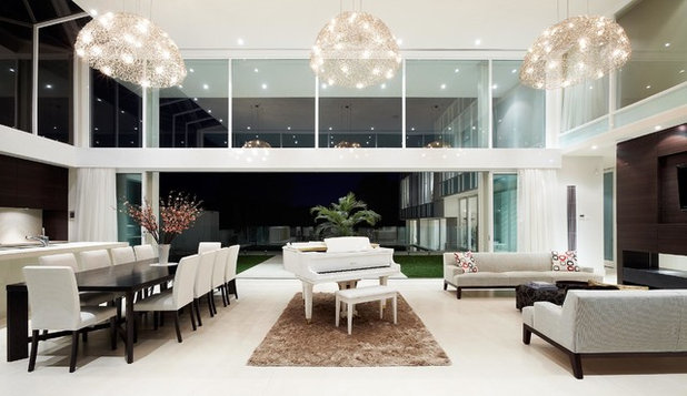 Contemporary Living Room by Urban Angles