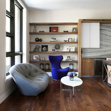 Contemporary Living Room by Morgante Wilson Architects