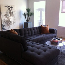 Contemporary Living Room by Living In Style, LLC