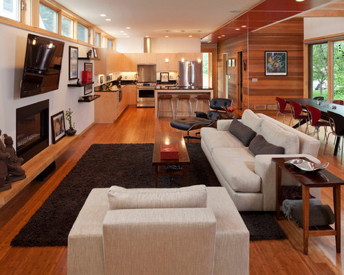 Small Open Concept Home Design Ideas Pictures Remodel