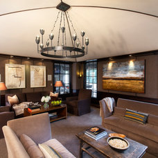 Contemporary Living Room by Jim Schmid Photography