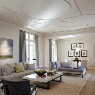 Fernseherloses, Offenes Klassisches Wohnzimmer in Austin