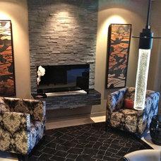 Contemporary Living Room by Cielo Interiors