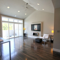 Transitional Living Room by Jordan Iverson Signature Homes