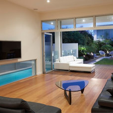 Contemporary Living Room by Dean Herald-Rolling Stone Landscapes