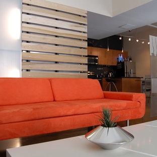 Ejemplo de salón abierto contemporáneo