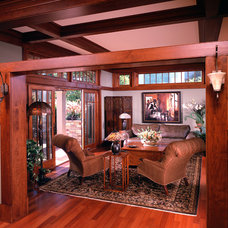 Traditional Living Room by Vujovich Design Build, Inc.