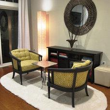 Contemporary Living Room by SINGULAR DESIGN INTERIORS
