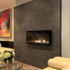 Contemporary Living Room by BedfordBrooks Design Inc.
