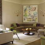 What A Great Room Contemporary Living Room