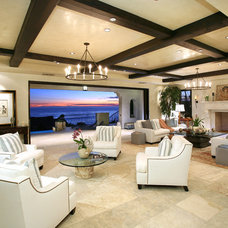 Mediterranean Living Room by V.I.Photography & Design