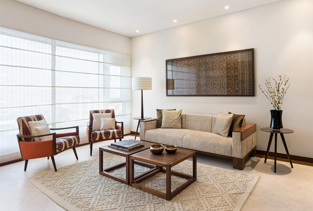 Midcentury Living Room by We Design Studio