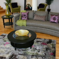 Eclectic Living Room by This Staged Space!