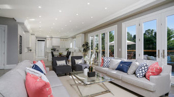 Vacant House staging - Living Rooms