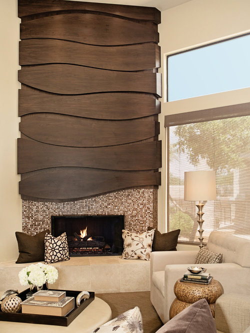 Custom Fireplace | Houzz