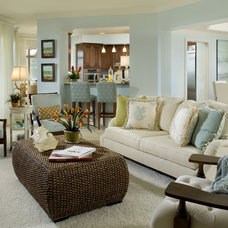 Traditional Living Room by Marc-Michaels Interior Design