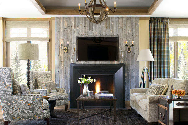Contemporary Living Room by Bardes Interiors