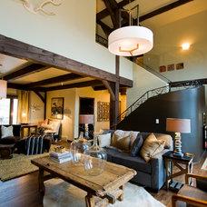 Contemporary Living Room by Sage Interior Design