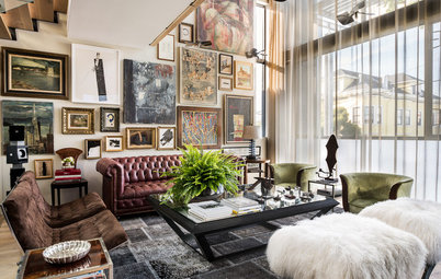 Room of the Day: A Well-Worn Look for a Brand-New Home