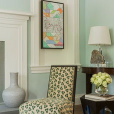 Transitional Living Room by Jill Litner Kaplan Interiors