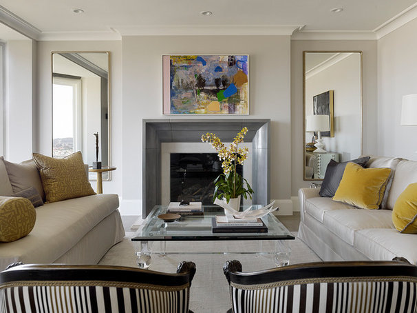Traditional Living Room by Design Line Construction, Inc.