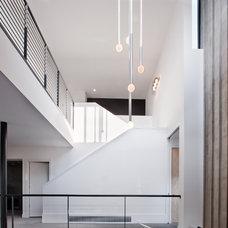 Contemporary Living Room by Texas Construction Company