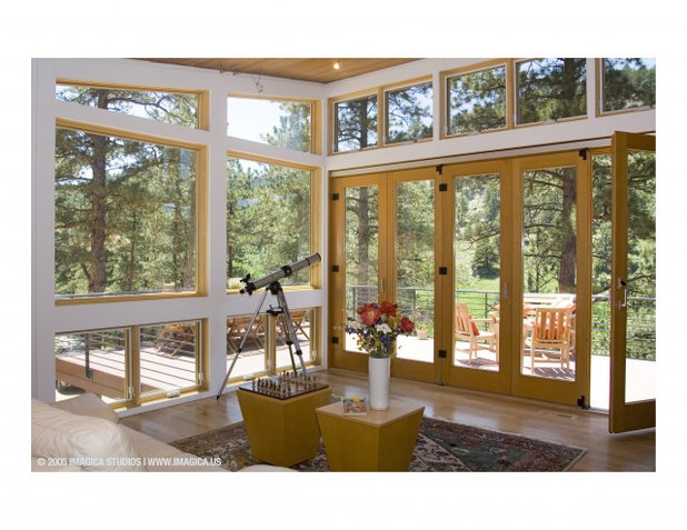 Midcentury Living Room by mark gerwing