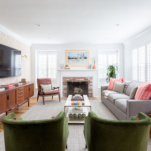 . 75 Beautiful Transitional Living Room Pictures   Ideas   Houzz