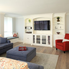 Contemporary Living Room by Klondike Contracting