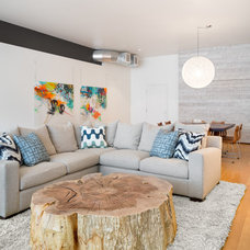 Contemporary Living Room by Josh Partee | Architectural Photographer