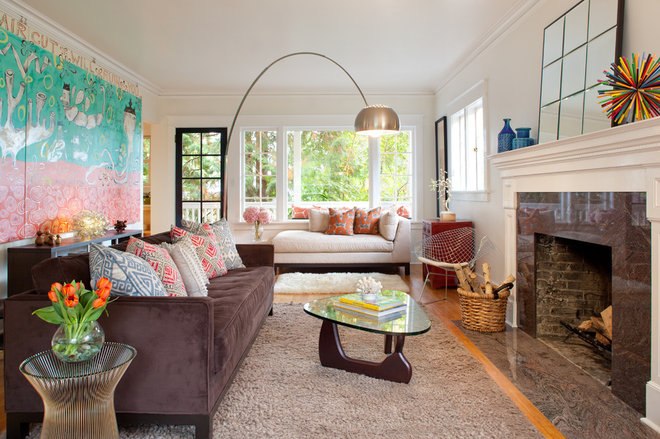 Eclectic Living Room by Josh Partee | Architectural Photographer