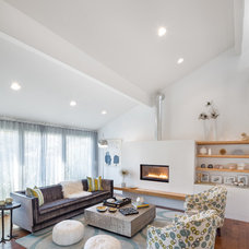 Contemporary Living Room by Josh Partee   Architectural Photographer