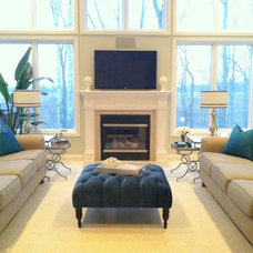 Traditional Living Room by Envision Home Staging and Interiors