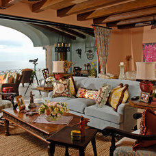 Mediterranean Living Room by Balke and Associates LLC