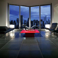 Contemporary Living Room by Complete Tile Collection
