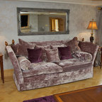 Diana S First House Traditional Living Room London