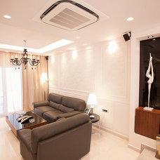 Eclectic Living Room by Vasiliki Pantou