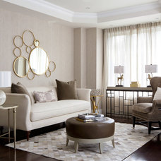 Contemporary Living Room by Toronto Interior Design Group | Yanic Simard