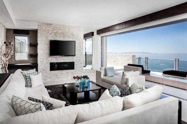 Contemporary Living Room by Domæn Ltd.