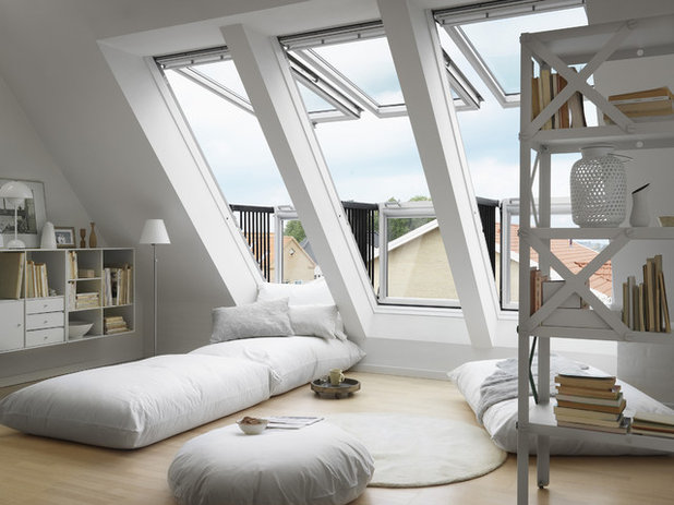 Contemporary Living Room by VELUX