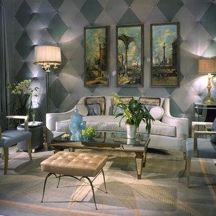 Art Deco Living Room | Houzz