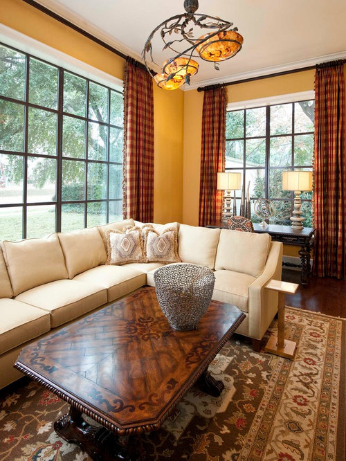 Yellow Living Room | Houzz