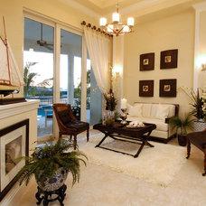 Contemporary Living Room by Divco Custom Homes