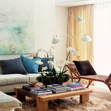 Contemporary Living Room by Digs By Katie | Katie Leede & Company