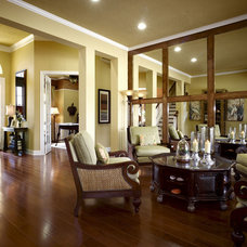 Mediterranean Living Room by Clausen Residential